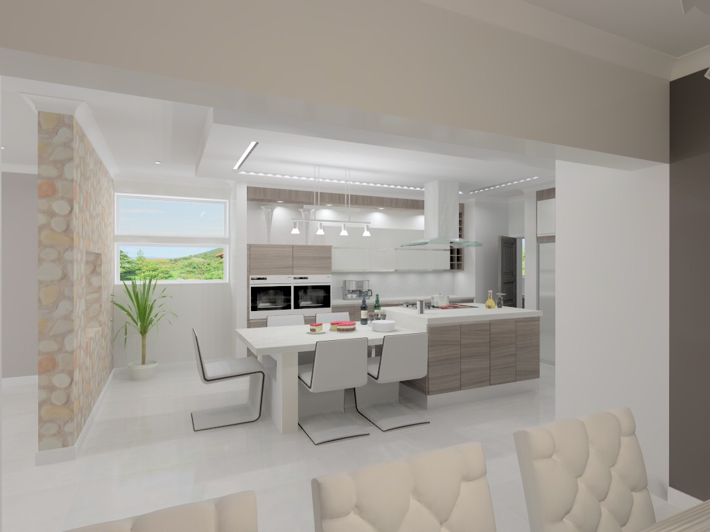 Dropped Ceiling Kitchen Intricate Living Kitchens