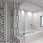 Leonard - Bathroom 1 & 2 Dropped ceiling render